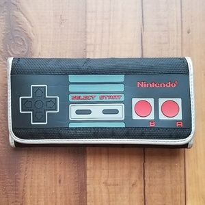 Nintendo Game System Wallet Clutch Nerd Geek Gamer
